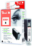 Peach C521 Inktcartridge - Zwart