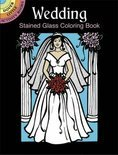 Wedding Stained Glass Coloring Book
