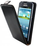 Mobiparts Classic Flip Case Samsung Galaxy S2 / S2 Plus Black