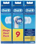 Oral-B Opzetborstel Precision Clean 6 + 3 extra