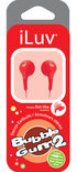 iLuv Bubble Gum Stereo Hoofdtelefoon - Rood