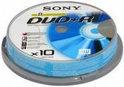 Sony DVD+R 120min/4,7GB 10 stuks op spindel