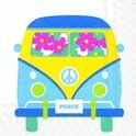 IHR Flower Bus Servetten - 16.5 x 16.5 cm