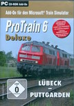 Blue Sky Interactive pc CD-ROM ProTrain 6 Deluxe  Lbeck - Puttgarden