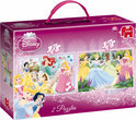 Princess Puzzel 2 in 1 box