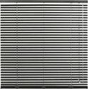 Horizontale Aluminium Jaloezie 25mm - 190x175 - Zwart