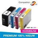 HP 364XL Value Pack 4x 100% NIEUWE compatible inkt cartridges