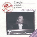 Chopin: 4 Ballades, 4 Scherzi / Vladimir Ashkenazy