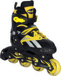 Inline Skate 38-41 Zwart/Geel