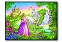 Ravensburger Puzzel 'Prinses met Paard'