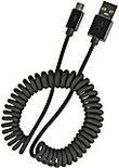 Speedlink, PECOS SPIRAL Micro USB Oplaadkabel (Zwart)