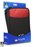 4Gamers Deluxe Draagtas PS Vita Zwart/Rood