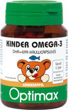 Optimax Kinder Omega-3 50 kauwcapsules