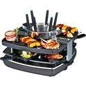 Gast Raclette-Fondue-Set 42559  1400W bk
