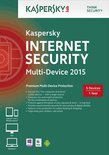 Aktie - Kaspersky, Internet Security 2015 Multi Device RB (5 Devices) (Dutch / French)