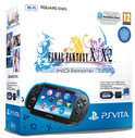 Sony PlayStation Vita Handheld Console WiFi + Final Fantasy X1 & X2 Download Voucher + 4GB Memory Card - Zwart PS Vita Bundel