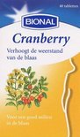 Bional Cranberry - 40 Tabletten - Voedingssupplement