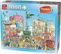 Comic Puzzel Piccadilly Circus
