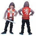 Ridder shirt met capuchon en 3D opdruk voor kids 4-5 jaar