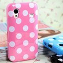 Samsung Galaxy Ace Polka Dots hoesje cover case - roze