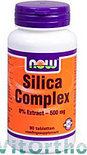 NOW Silica Complex 500 mg - 90 Tabletten