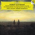 Schumann: Piano Quintet, String Quartet Op 41 no 1 / Hagen