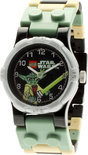 LEGO Clone Star Wars Yoda Horloge