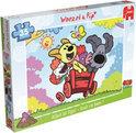 Jumbo Woezel & Pip - Puzzel - 4X35 stukjes