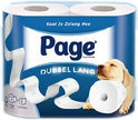 Page Dubbellang Toiletpapier