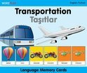 Language Memory Cards - Transportation