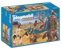 Playmobil Indiaantjes met Dieren - 5252