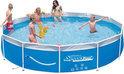 Speedy Pool Stalen Frame Zwembad - 360 cm - incl Ingebouwde Pomp