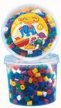 Hama Strijkkralen Maxi Beads in Tub