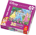 Disney Puzzel - Prinsessen in de Tuin 3D