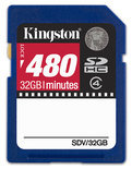 Kingston 32GB SDHC -Videokaart