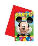 Uitnodingen Mickey Mouse Colours