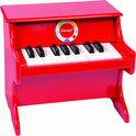 Confetti piano rood