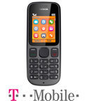 Nokia 100 - Zwart - T-Mobile prepaid telefoon
