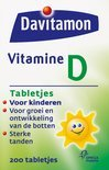 Davitamon Vitamine D - 200 Tabletten - Vitaminen