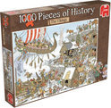 Jumbo Pieces of History Vikings - Puzzel - 1000 stukjes