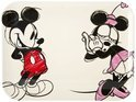Disney Minnie & Mickey Dienblad - 40 x 30 cm