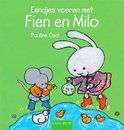 Eendjes voeren met Fien en Milo