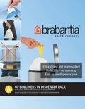 Brabantia Afvalzakken - 3 l - Code A - 60 stuks/dispenser pack