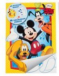 Disney Mickey Mouse A4 kleurboek met stickers