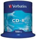 Verbatim 43411 CD-R Extra Protection - 100 Stuks / Spindel