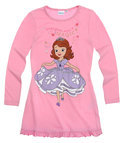 Disney Princess Nachtjapon - Roze - Maat 116