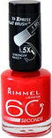 Rimmel 60 seconds finish nailpolish - 440 Orange Fizz - nagellak