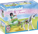 Playmobil Eenhoornkoets met Vlinderfee - 5446