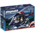 Playmobil Politiehelikopter met Zoeklicht - 5183