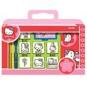 Hello Kitty stempeldoos 12 delig
